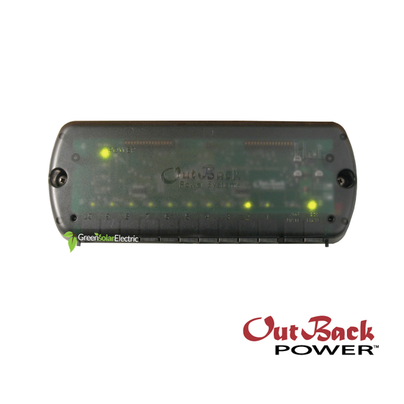 Outback Power Systems Comunications HUB10.3, Green Solar Electric, LLC.