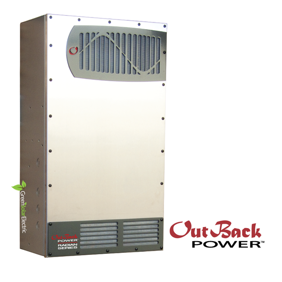 Outback Radian GS4048-01 Battery Inverter, Off Grid or Grid Tied, 48volt Solar Power Inverter.