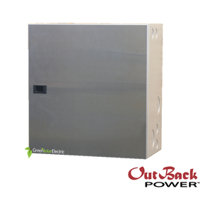 Outback Radian GSLC Battery Inverter wiring panel, Off Grid or Grid Tied, for use with 48volt radian series inverters.