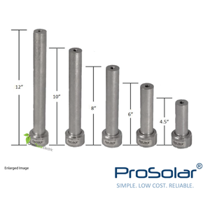 ProSolar, Solar Panel Installation Components, Solar Panel Racking, Solar Panel Mounting Hardware.