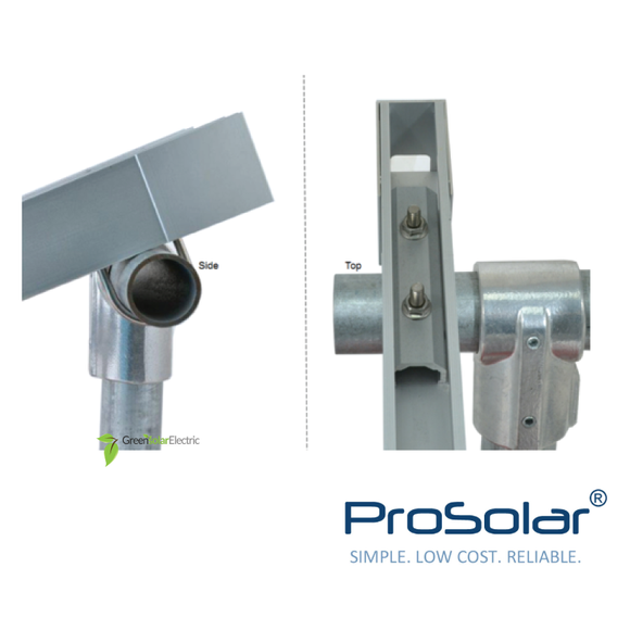 ProSolar, Solar Panel Installation Components, Solar Panel Racking, Solar Panel Mounting Hardware, Flashing, Ground Mount.