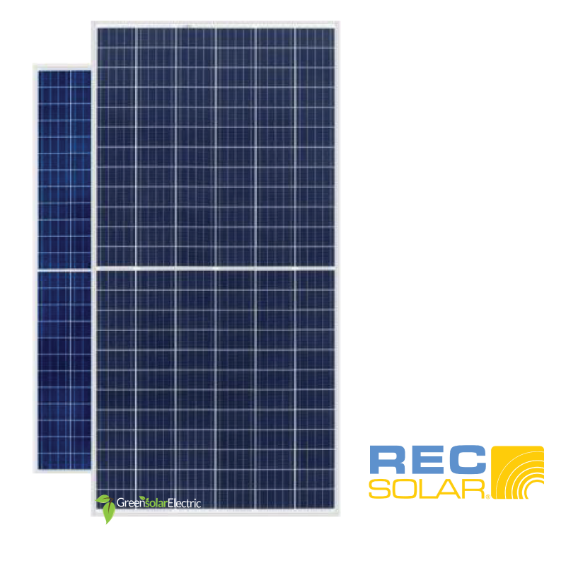 Rec Solar 330 Watt Module Green Solar Electric Llc