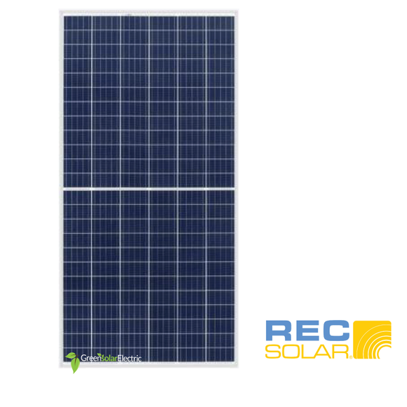 REC Solar, 330 watt, 72 cell, TWINPEAK 2S 72 SERIES, Green Solar Electric