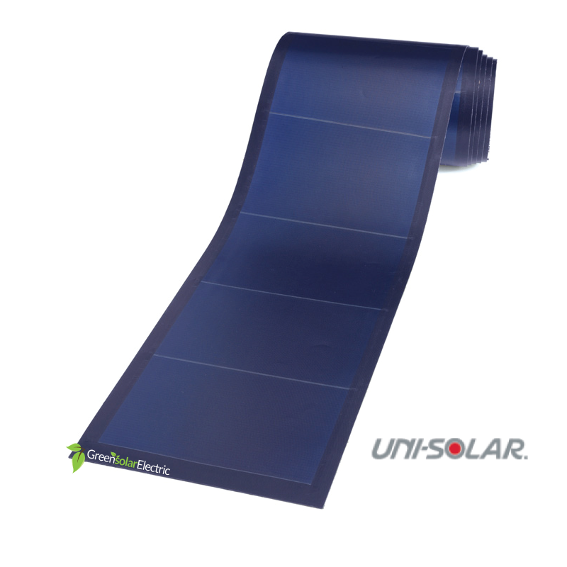 Uni Solar Laminate Solar Panel Pvl 128 Green Solar