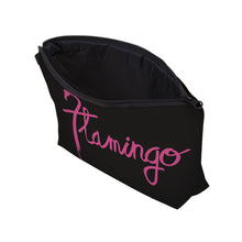 Black Flamingo Makeup Pouch