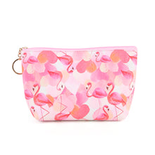 Flamingo love pouch