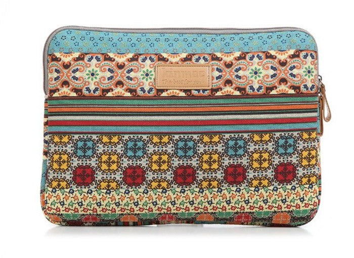 Boho laptop sleeve 15 inches