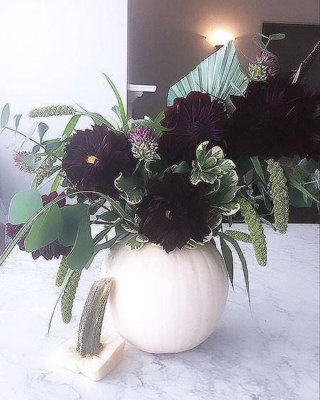 Black Dahlia Arrangement