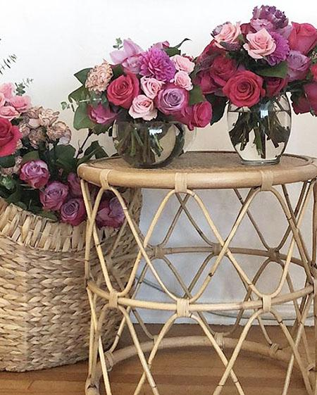 Pink Rose Arrangements LA