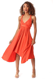 Love Bright Orange Dress