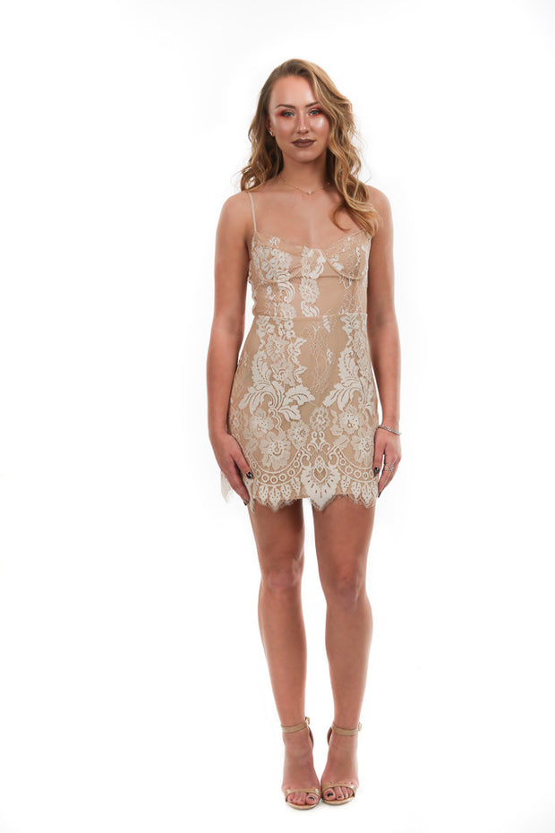 Her Wonderland Lace Dress