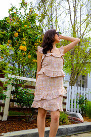 In The Garden Ruffle Dress