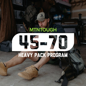 MTNTOUGH 45-70 - Backpack Workout
