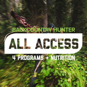 Backcountry Hunter All Access Program