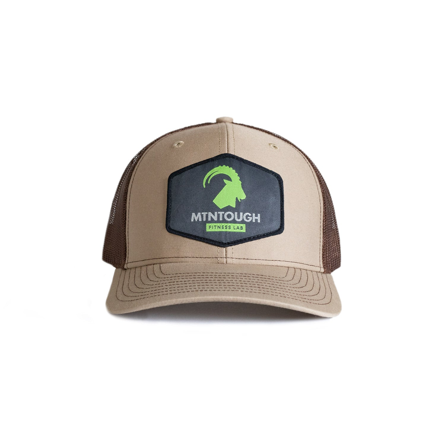 MTNTOUGH HAT - Tan Patch
