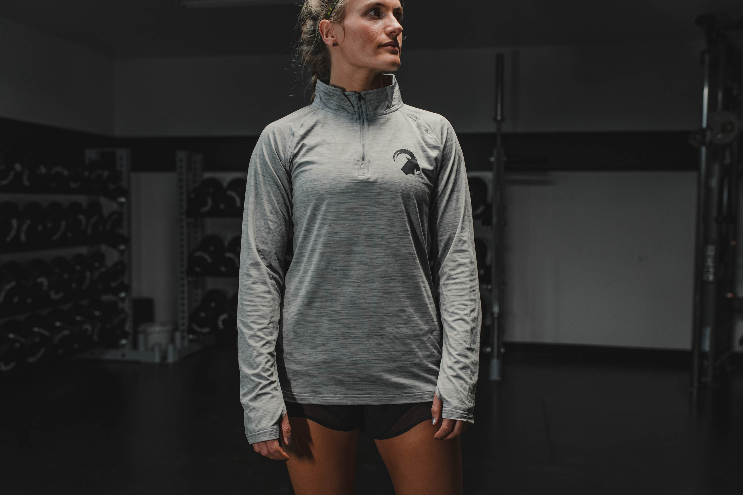 MTNTOUGH Ladies Long Sleeve 1/4 Zip