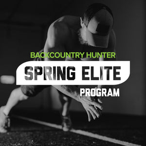MTNTOUGH Backcountry Hunter Spring Elite Program