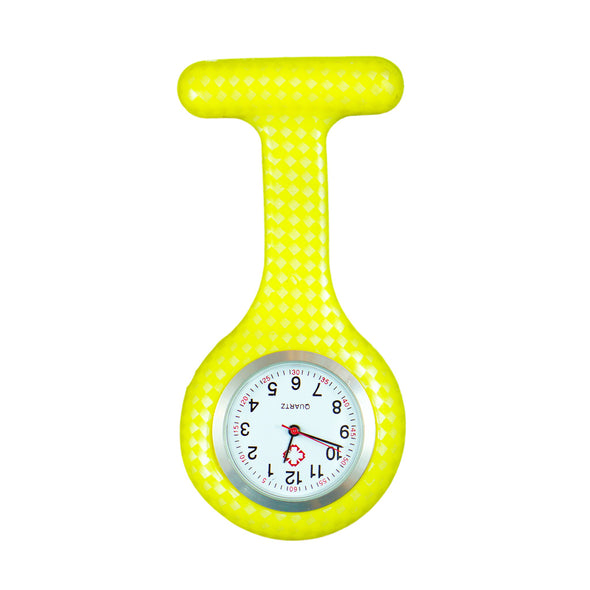 Yellow scales nurse watch
