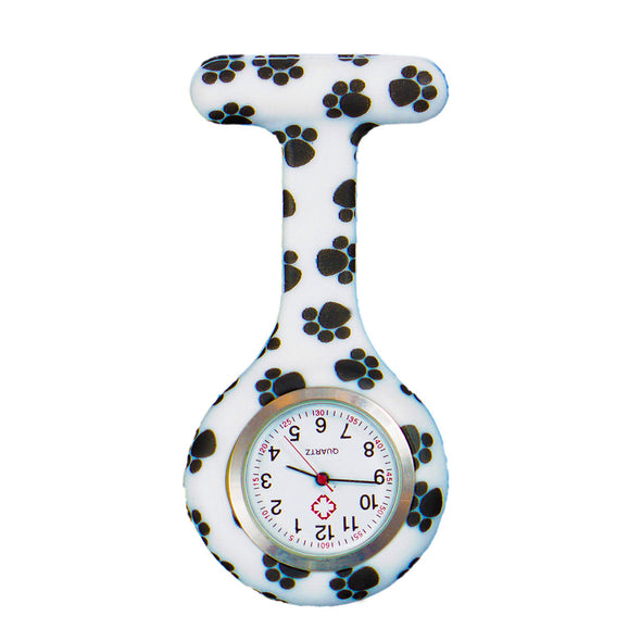 Dog paws nurse watch