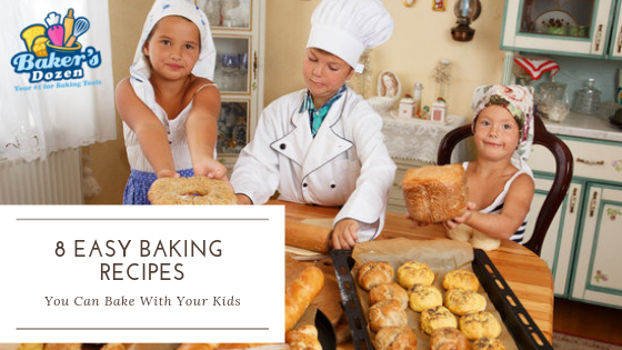 8 Easy Baking Recipes You Can Bake With Your Kids