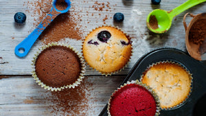 How To Make A Homemade Berry Cupcake