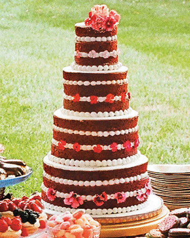 Red Velvet Wedding Cakes
