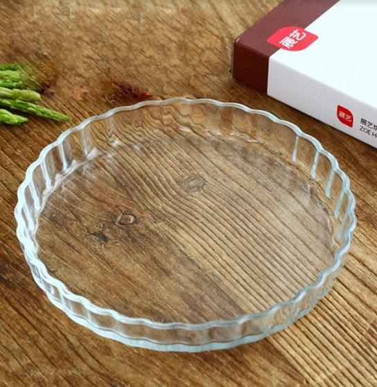 Glass Dish For Baking Pies. - bakers-dozen-store
