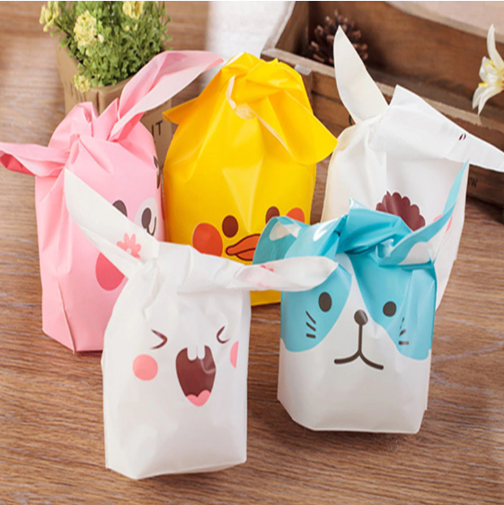 Cute Cookie Bags (10pcs) - bakers-dozen-store