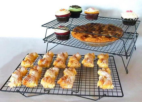 Stackable Cooling Rack Metal-3 Layers.