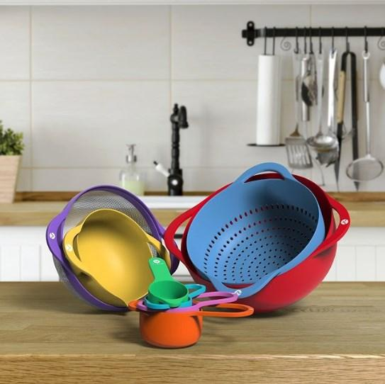 Measuring Cups and Bowls(8pcs).