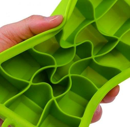 Silicone Tray Ice Cubes And Square Mold. - bakers-dozen-store
