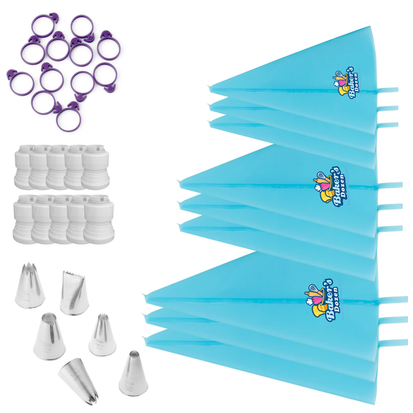 Silicone Icing Pastry Bags. - bakers-dozen-store
