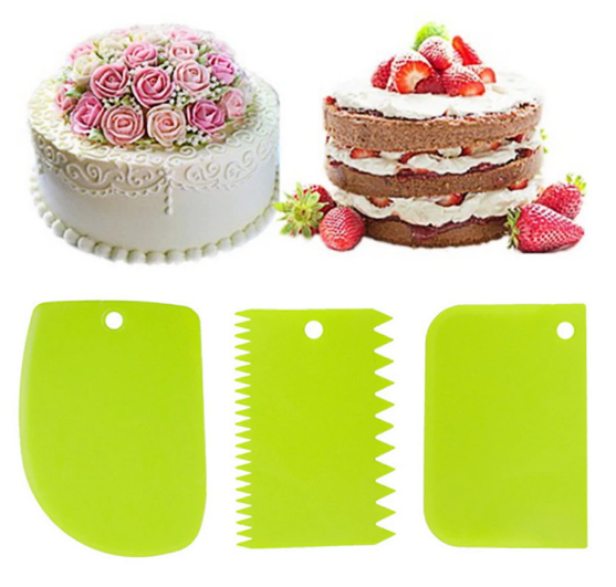 Cake/Bread Slicer with Cutter Set 3pcs - bakers-dozen-store