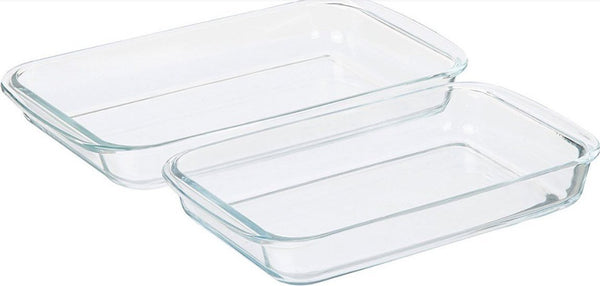 Tempered Glass Baking Pan.