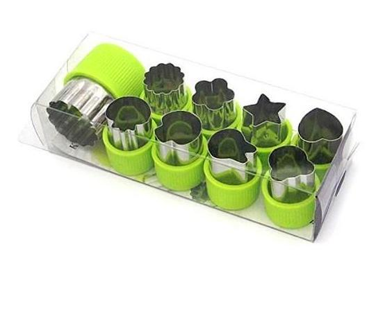Stainless Steel Mini Cutter Set(8pcs).