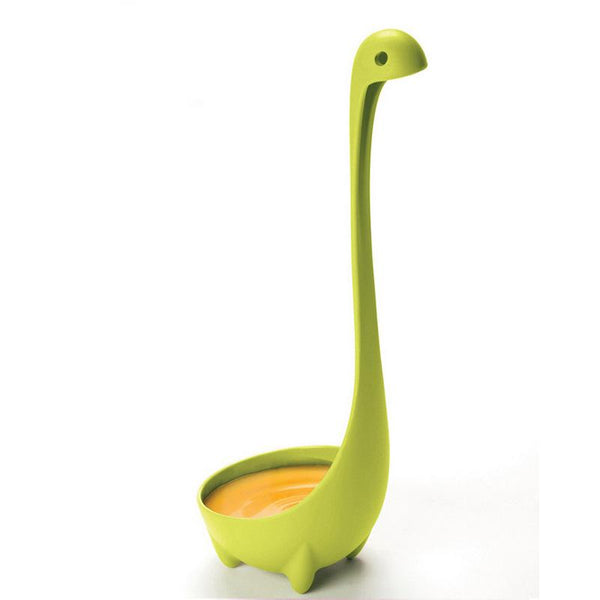 Plastic Dinosaur Spoon Kitchen Long Handled Spoon - bakers-dozen-store