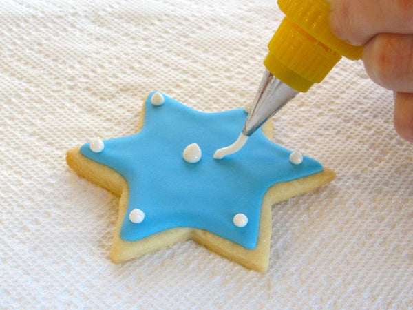 Round Nozzle Icing and Piping Tips(5pcs). - bakers-dozen-store