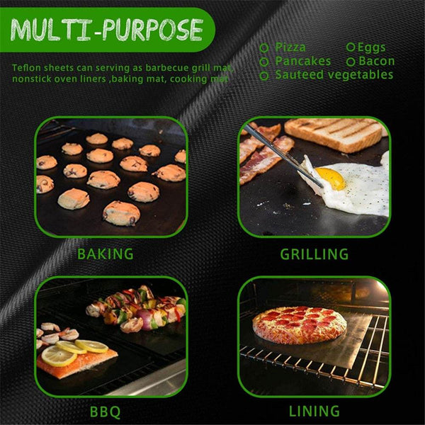 Heat Resistant BBQ Oven Grill Mat