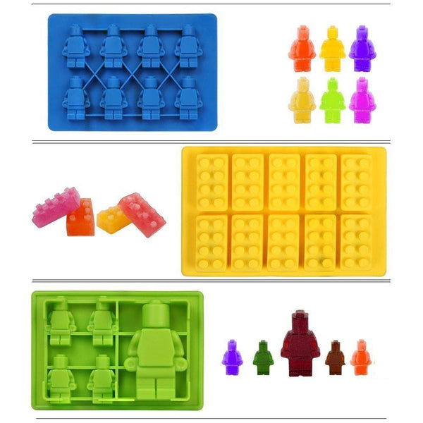 Brick Cake Mold and Gummy Mold - bakers-dozen-store