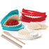 Dumpling Mold Set of 3 with 1 Rolling Pin and 1 Spoon