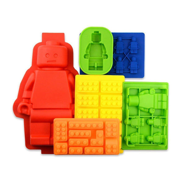Brick Cake Mold and Gummy Mold