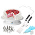 Revolving Turntable Stand with Icing kit (Limited Edition Pack)