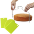 Cake/Bread Slicer with Cutter Set 3pcs