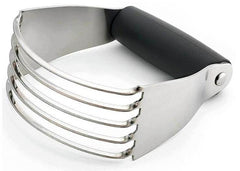 Ergonomic Stainless Steel Pastry Cutter.
