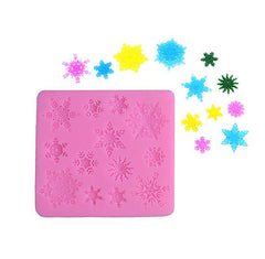 3D Christmas Decorations Snowflake Mould