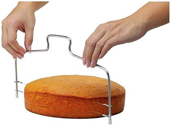 Double Wires Cake Cutter/Slicer/Leveler. - bakers-dozen-store