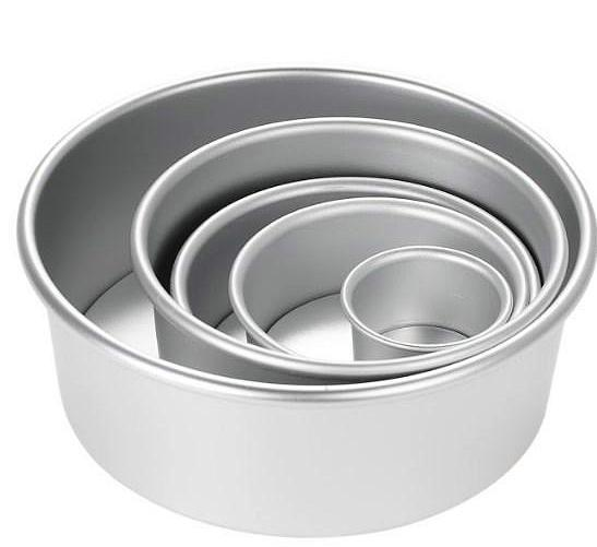 Round Cake Mold And Baking Pan(5 pcs). - bakers-dozen-store