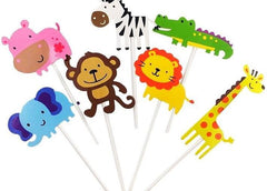 Animal Cupcake Topper Decoration(24pcs)