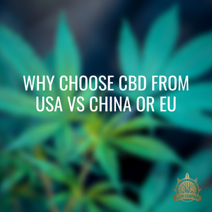 Why choose CBD from USA vs China or EU?