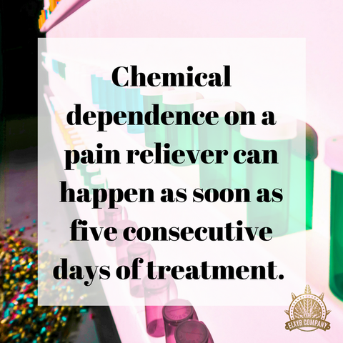 Chemical Dependence vs CBD Benefits